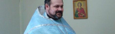 Иерей Александр Рысин отслужил молебен о страждущих недугом винопития и наркомании в наркологическом реабилитационном центре села Русский Ишим