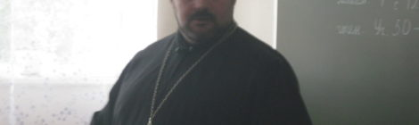 Состоялась встреча священнослужителя с учащимися общеобразовательной школы села Русский Ишим