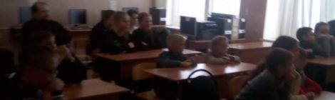 Состоялась встреча настоятеля Никольского храма села Дигилевка иерея Александра Рысина с учащимися дигилевской общеобразовательной школы
