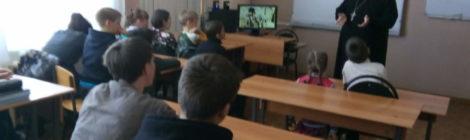 Священнослужитель посетил с пастырским визитом общеобразовательную школу села Дигилевка