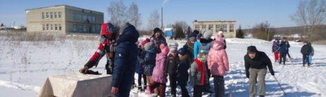 В селе Русский Ишим состоялся турнир по биатлону