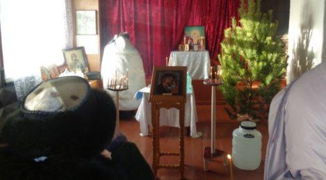 Великое освящение воды в Садовке и Русском Ишиме