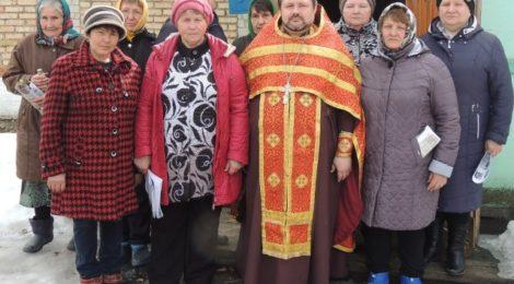 В селе Можарка Городищенского района впервые за последние десятилетия состоялось православное богослужение