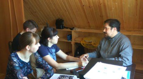 В Покровской церкви города Городище состоялось очередное собрание приходского информационного отдела