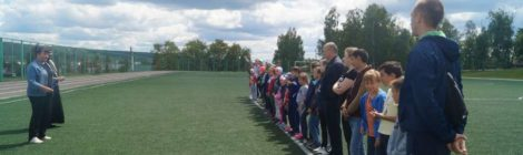 В воскресной школе при Покровской церкви г. Городище учебный год завершился в спортивном формате